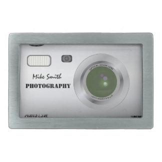 Hebilla del cinturón personalizada del fotógrafo d hebillas cinturón rectangulares