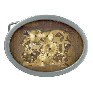 Hebilla del cinturón radical de Steampunk 3 Hebillas De Cinturón Ovales