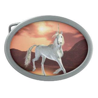 Hebilla del cinturón real del unicornio hebillas cinturon ovales