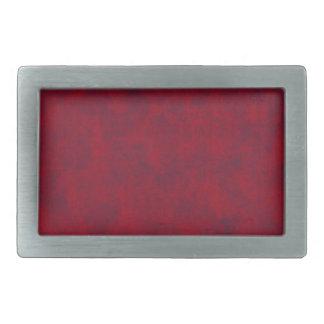 Hebilla del cinturón rectangular abigarrada rojo hebillas cinturón rectangulares