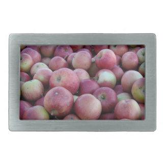 Hebilla del cinturón roja de las manzanas de la co hebillas de cinturon rectangulares