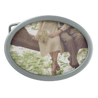 Hebilla del cinturón romántica de los adolescentes hebillas de cinturon ovales