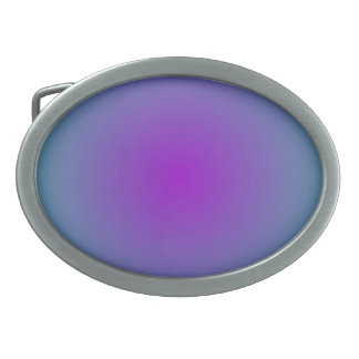 Hebilla del cinturón rosada llana de /Blue Illumin Hebilla De Cinturon Oval