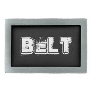 Hebilla del cinturón simple hebilla de cinturon rectangular