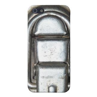 Hebilla del corchete de la cerradura del metal iPhone 5 carcasa