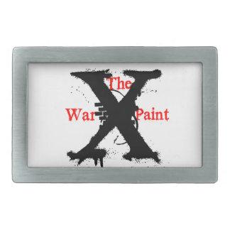 """Hebilla del rectángulo """"de la pintura de guerra"""" hebillas de cinturón rectangulares"""
