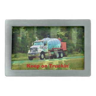 Hebilla del transporte de los conductores de camió hebilla de cinturón rectangular