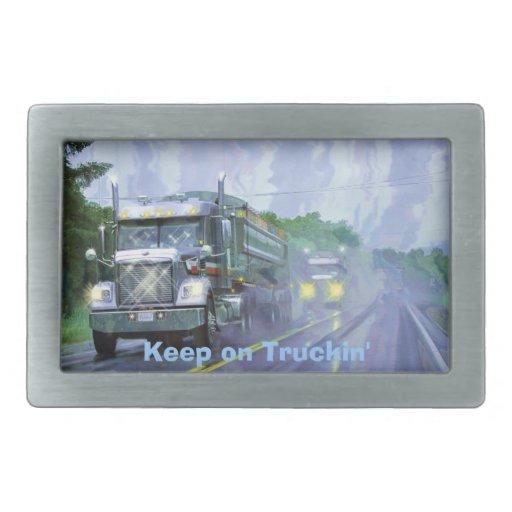 Hebilla del transporte de los conductores de hebilla de cinturón rectangular