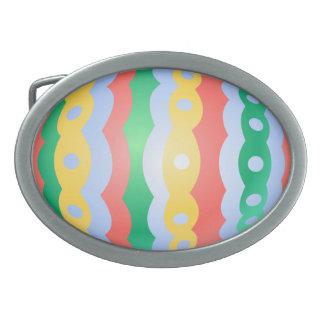 Hebilla festiva del huevo de Pascua de la hebilla  Hebilla De Cinturon Oval