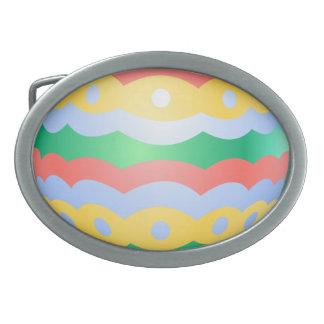 Hebilla festiva del huevo de Pascua de la hebilla  Hebillas De Cinturón Ovales