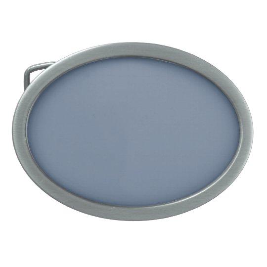 Hebilla llana del >Belt del gris de plata Hebillas De Cinturon Ovales