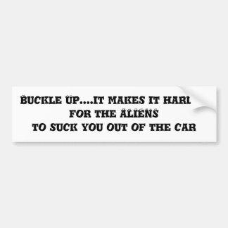 Hebilla para arriba….hace más duro para los EXTRAN Pegatina Para Auto