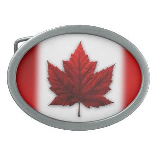 Hebillas canadienses del recuerdo de la bandera de hebillas de cinturon