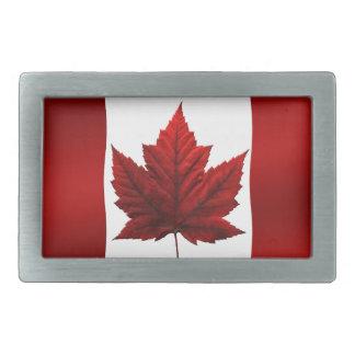 Hebillas canadienses del recuerdo de la bandera de hebillas de cinturón rectangulares