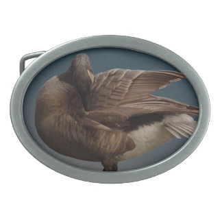 Hebillas canadienses del recuerdo del ganso de la  hebillas de cinturón ovales