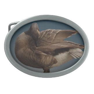 Hebillas canadienses del recuerdo del ganso de la hebillas cinturón ovales