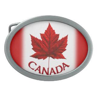Hebillas canadienses frescas del recuerdo de la he hebilla cinturón oval