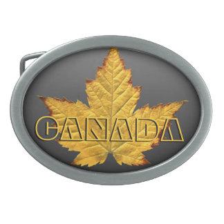 Hebillas canadienses frescas del recuerdo de la hebilla de cinturón oval