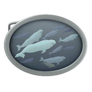 Hebillas del arte de la ballena de la hebilla del hebilla cinturón