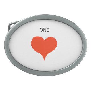 """Hebillas del cinturón de """"un corazón"""" hebillas de cinturon ovales"""