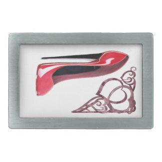 Hebillas del cinturón del arte del zapato del esti hebilla cinturon rectangular