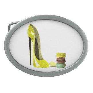 Hebillas del cinturón del arte del zapato del esti hebilla de cinturon oval
