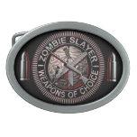 Hebillas del cinturón del asesino del zombi hebillas cinturón