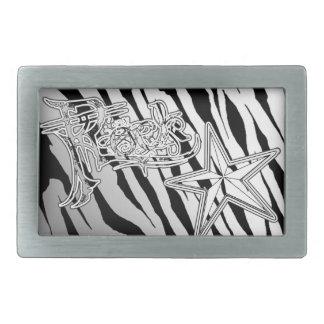 Hebillas del cinturón del metal de la estrella del hebilla cinturon rectangular