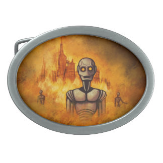 hebillas del cinturón del scifi de la revolución d hebillas de cinturon ovales