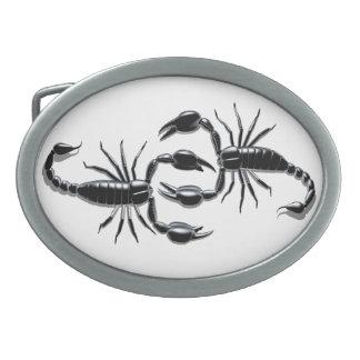 Hebillas del cinturón mortales de los escorpiones hebilla de cinturon