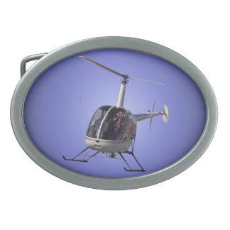 Hebillas del piloto del helicóptero de la hebilla  hebilla de cinturón oval