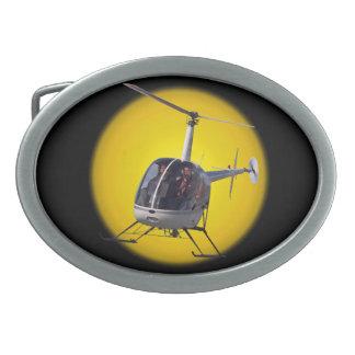 Hebillas del piloto del helicóptero de la hebilla  hebillas de cinturon ovales