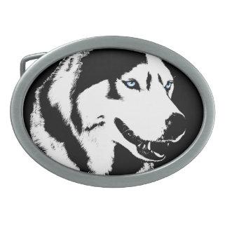 Hebillas fornidas del perro de trineo del Malamute Hebilla Cinturón