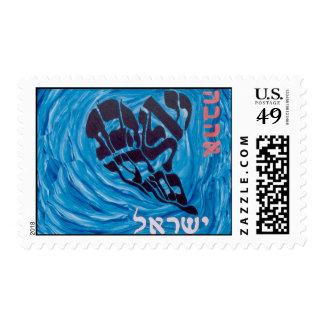 Hebreo Israel de Ahava del amor Timbres Postales