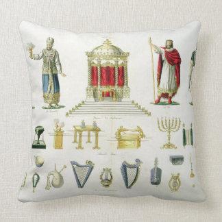 Hebreo Levi, sacerdote, rey y soldado con sagrado Almohada