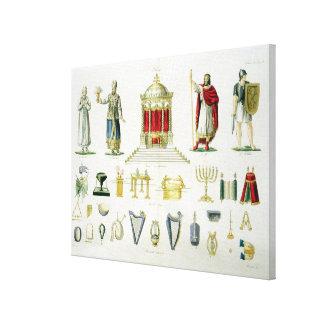 Hebreo Levi, sacerdote, rey y soldado con sagrado Lienzo Envuelto Para Galerias