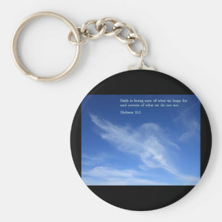 Hebrew 11:1  Clouds Key Chains