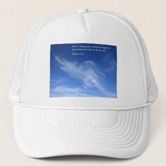 Hebrew 11:1  Clouds Trucker Hat