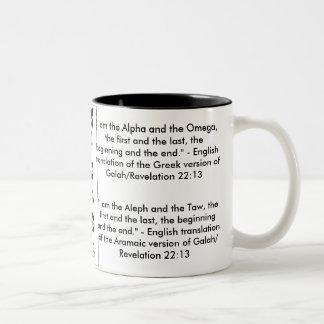 Hebrew Alphabet (Alef/Aleph Bet) Mug