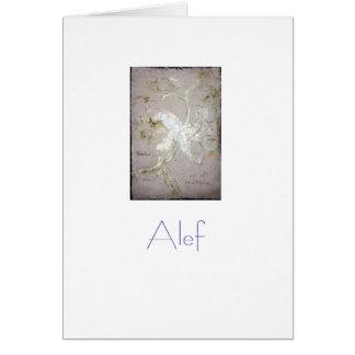 Hebrew Alphabet Greeting Cards