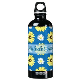 Hebrew Birthday Daisies Ocean Blue SIGG Traveler 0.6L Water Bottle
