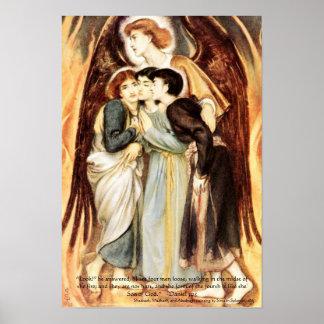 Hebrew Boys Fiery Furnace, Bible Scripture Print