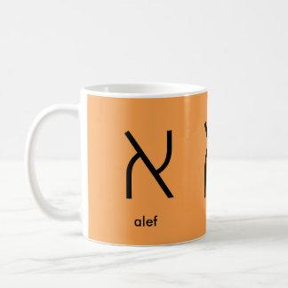hebrew first letter Alef Coffee Mug