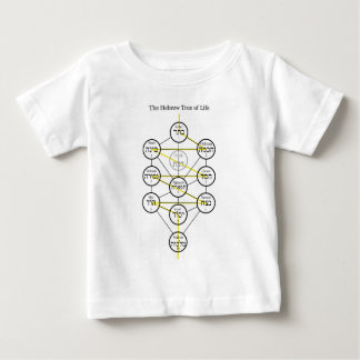 Hebrew Kabbalistic Tree of Life with Flaming Sword Shirt