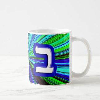 "Hebrew Letter ""Beis, Bet"" Coffee Mug"
