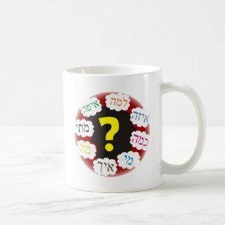 Hebrew Questions Coffee Mug