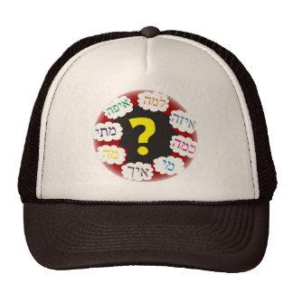 Hebrew Questions Trucker Hat