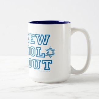 HEBREW SCHOOL DROPOUT Two-Tone COFFEE MUG