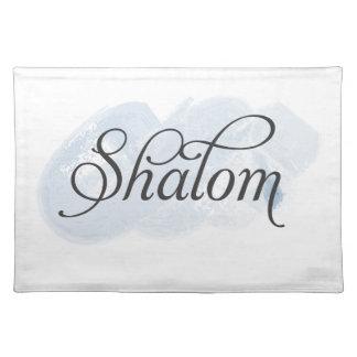 Hebrew - Shalom Place Mat