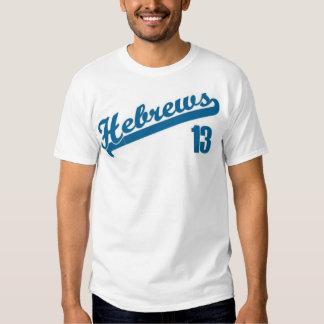 Hebrews13 Playera